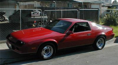 1984 chevrolet camaro 1 4 mile drag racing timeslip specs 0 60. Black Bedroom Furniture Sets. Home Design Ideas