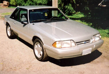 1989 Ford Mustang LX 5.0 Notchback