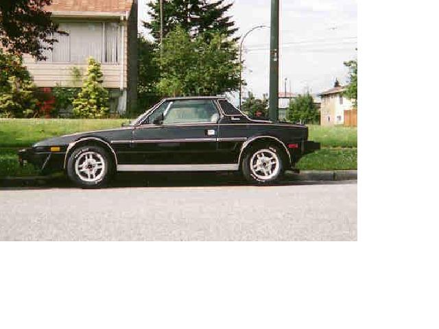 1982  Fiat X19  picture, mods, upgrades