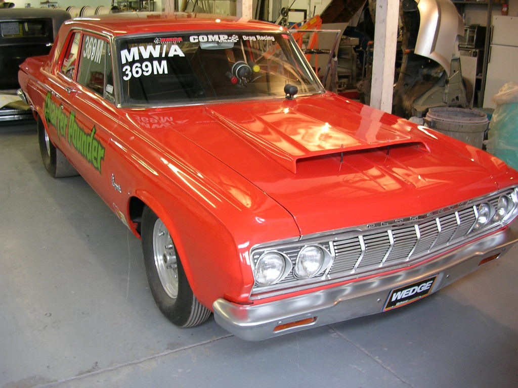 1964 Plymouth Belvedere 426 Max Wedge