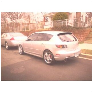 2005  Mazda 3 5-door picture, mods, upgrades