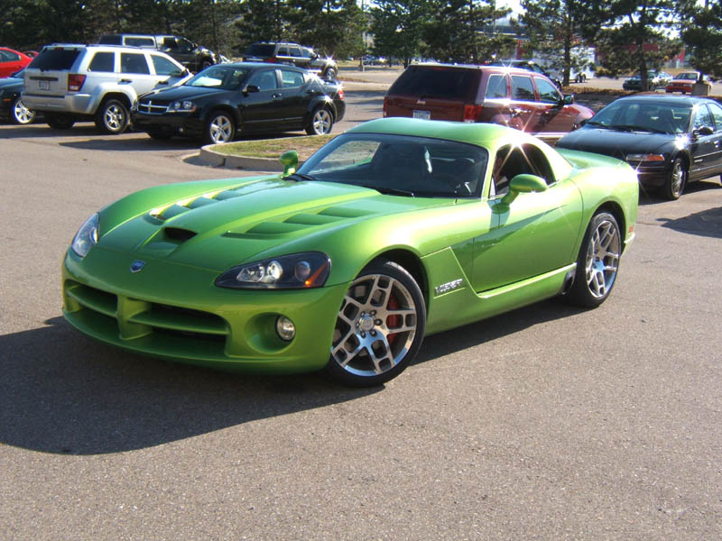 2008 Dodge Viper SRT10 Coupe in Snakeskin Green Color