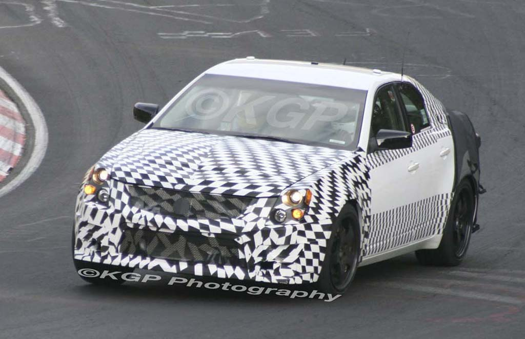 2009 Cadillac CTS-V to have 600HP supercharged LS7 motor
