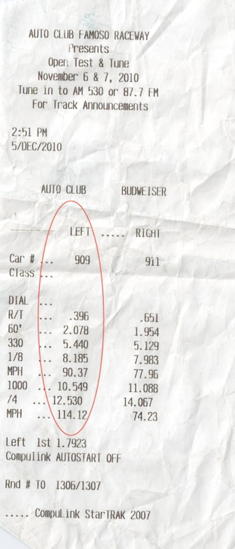 2009 BMW 335i E92 Dyno Results Graph