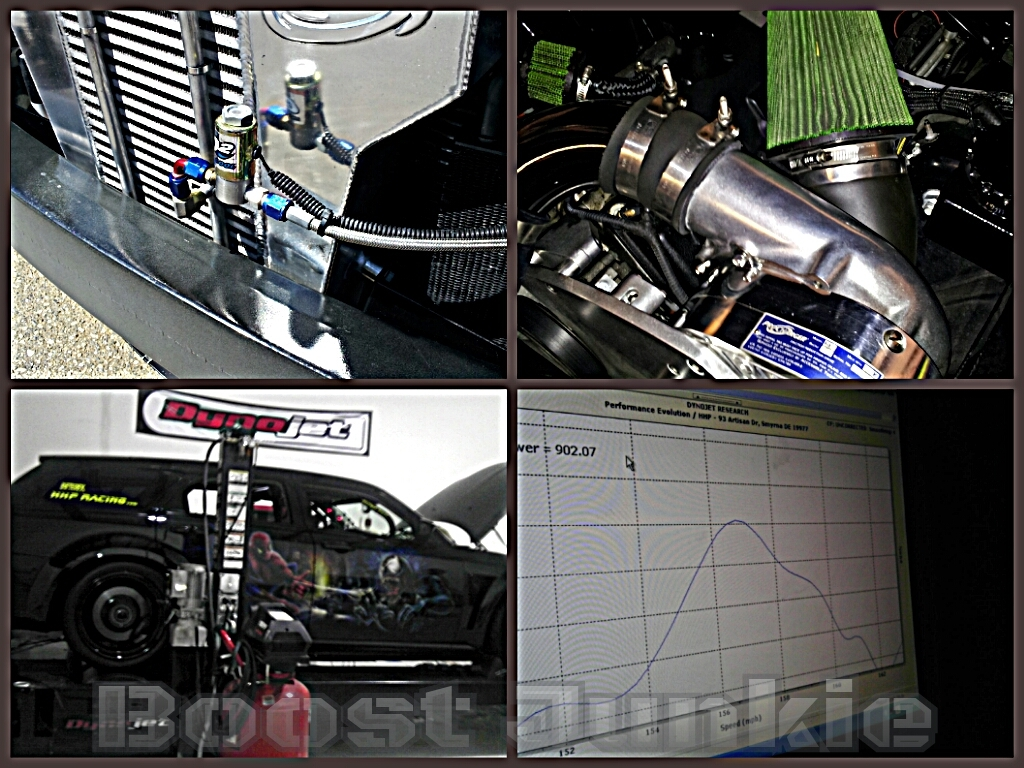 2006  Dodge Magnum SRT8 ProCharger F1-D Dyno Graph