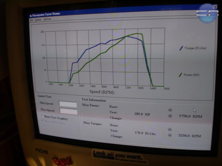 Daewoo Nubira Dyno Graph Results