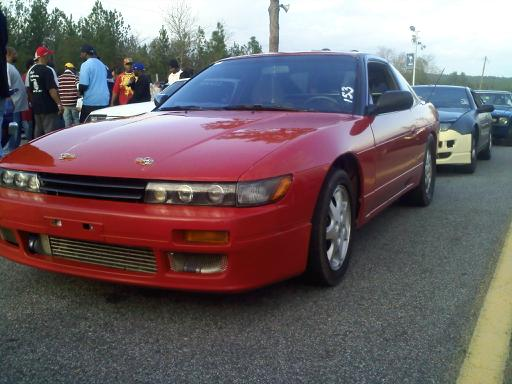 1993 Nissan 240SX SR Turbo hatchback Dyno Results Graph
