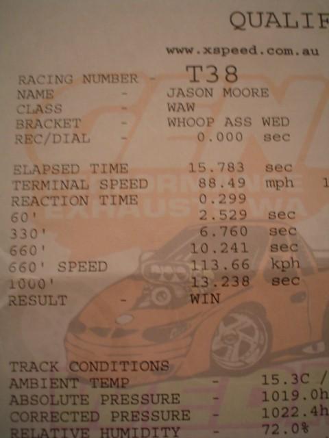 Mazda 626 Timeslip Scan