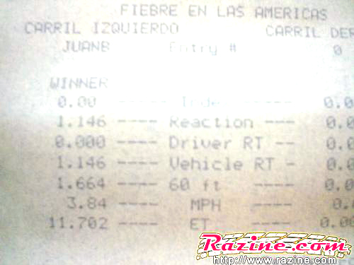 Toyota MR2 Timeslip Scan