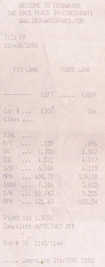 Victory V92C Timeslip Scan