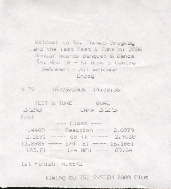 Volvo 850 Timeslip Scan