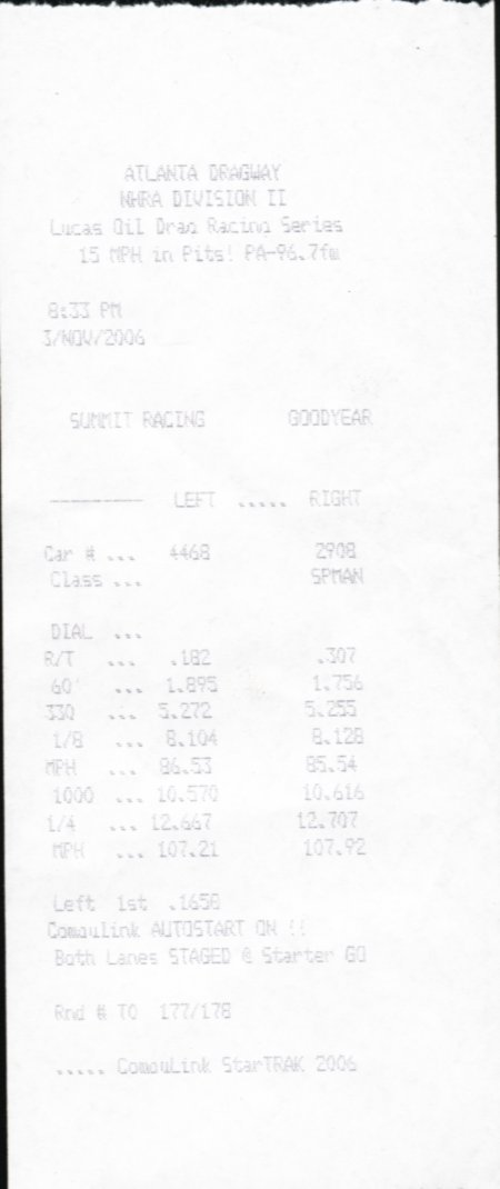 Ford Thunderbird Timeslip Scan