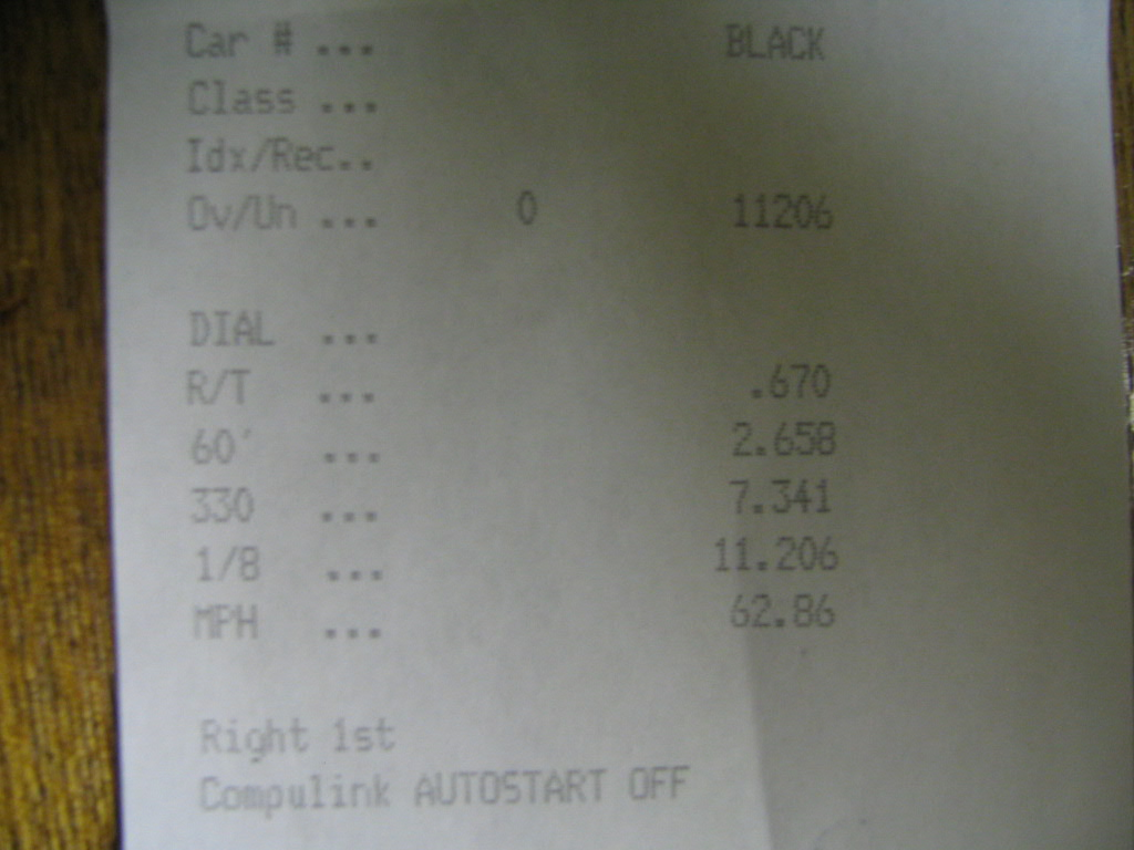 2007 Jeep Wrangler Unlimited Timeslip Scan