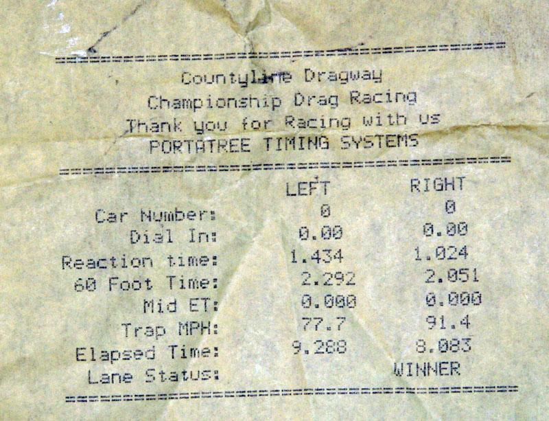 Mercedes-Benz E55 AMG Timeslip Scan