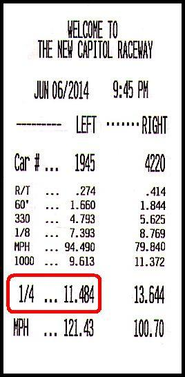 1989 Black Toyota Tercel 1 (Turbo) Timeslip Scan