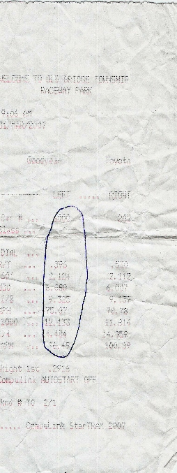 Infiniti M45 Timeslip Scan