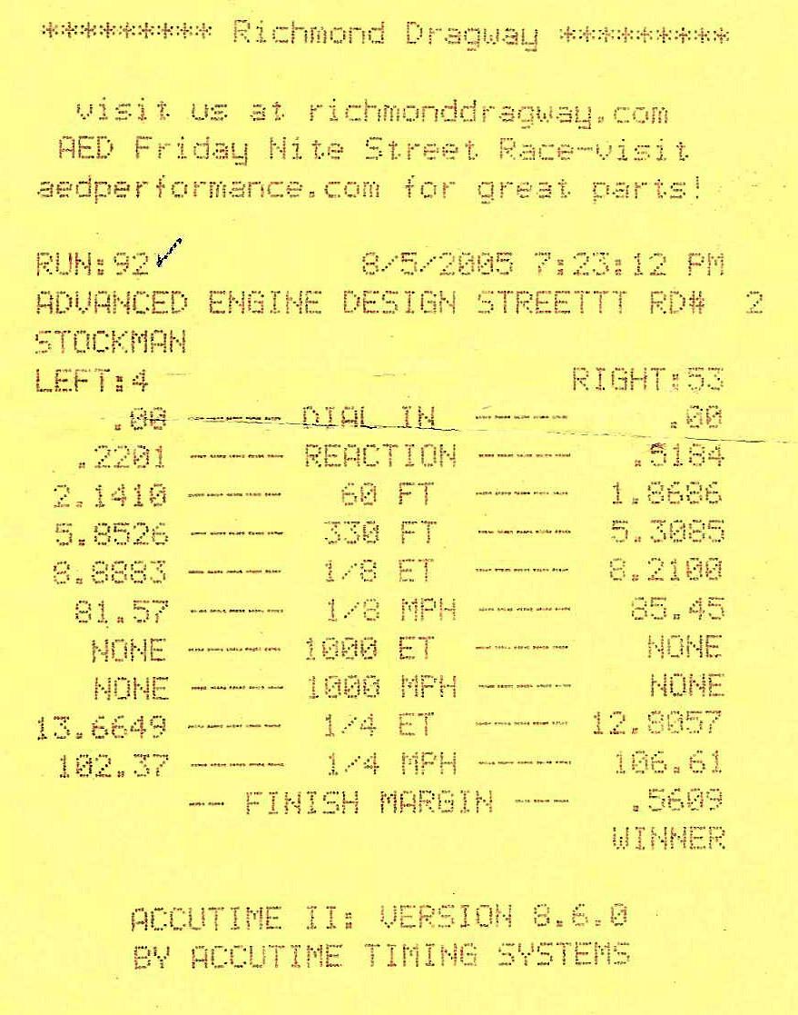 Pontiac Grand Prix Timeslip Scan