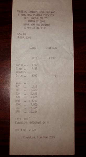 Mazda RX-7 Timeslip Scan