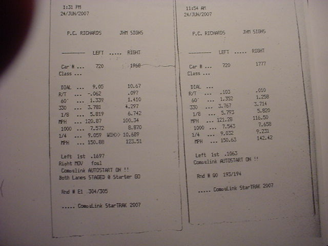 Jaguar XKE Series Timeslip Scan