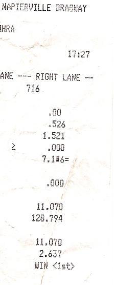 Nissan 240SX Timeslip Scan