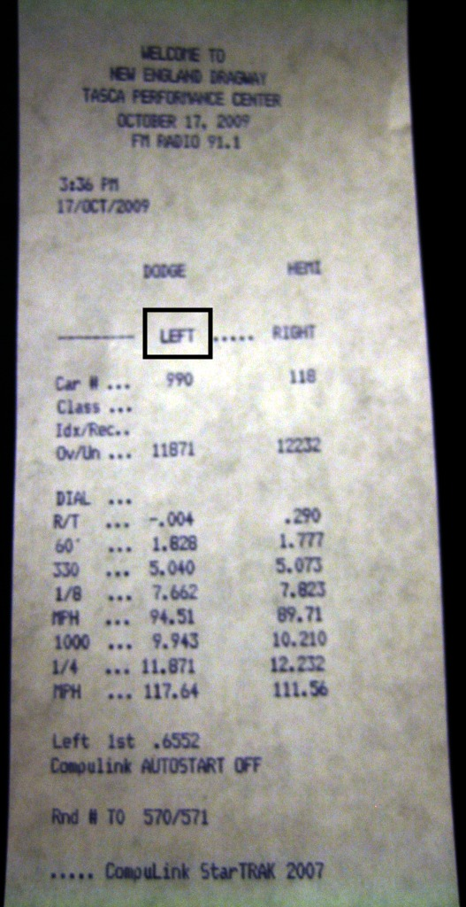 1995 Ford Escort GT Turbo Timeslip Scan