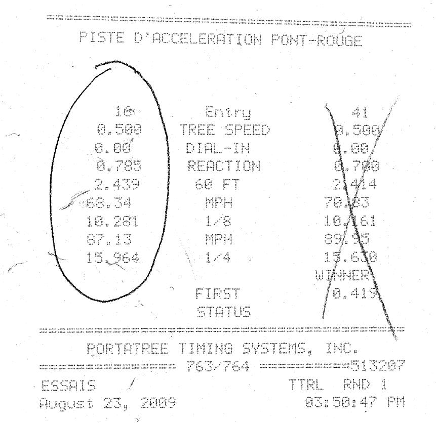 2002  Acura RSX Base Timeslip Scan
