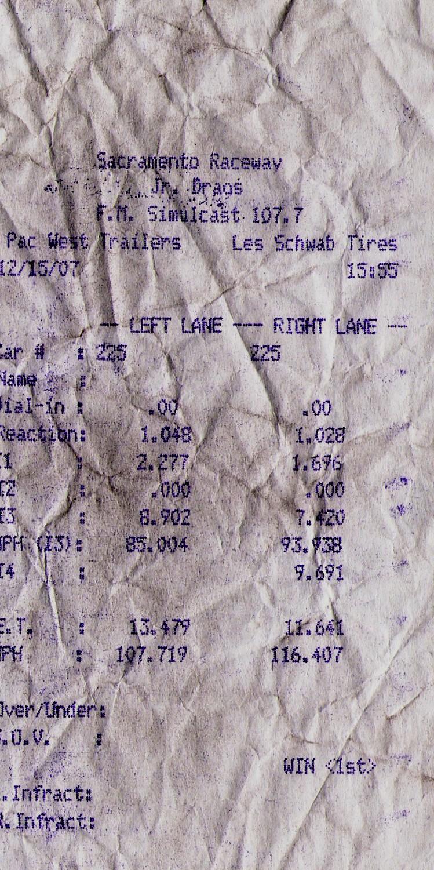 Ford Torino Timeslip Scan