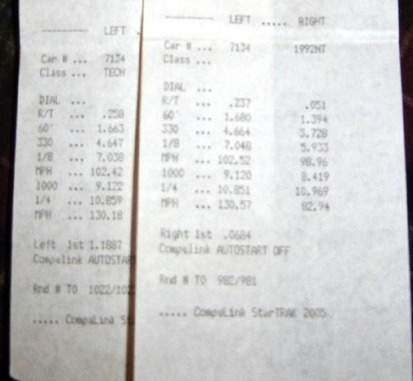 Nissan Skyline Timeslip Scan