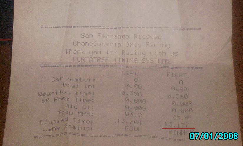 Ford Bronco II Timeslip Scan