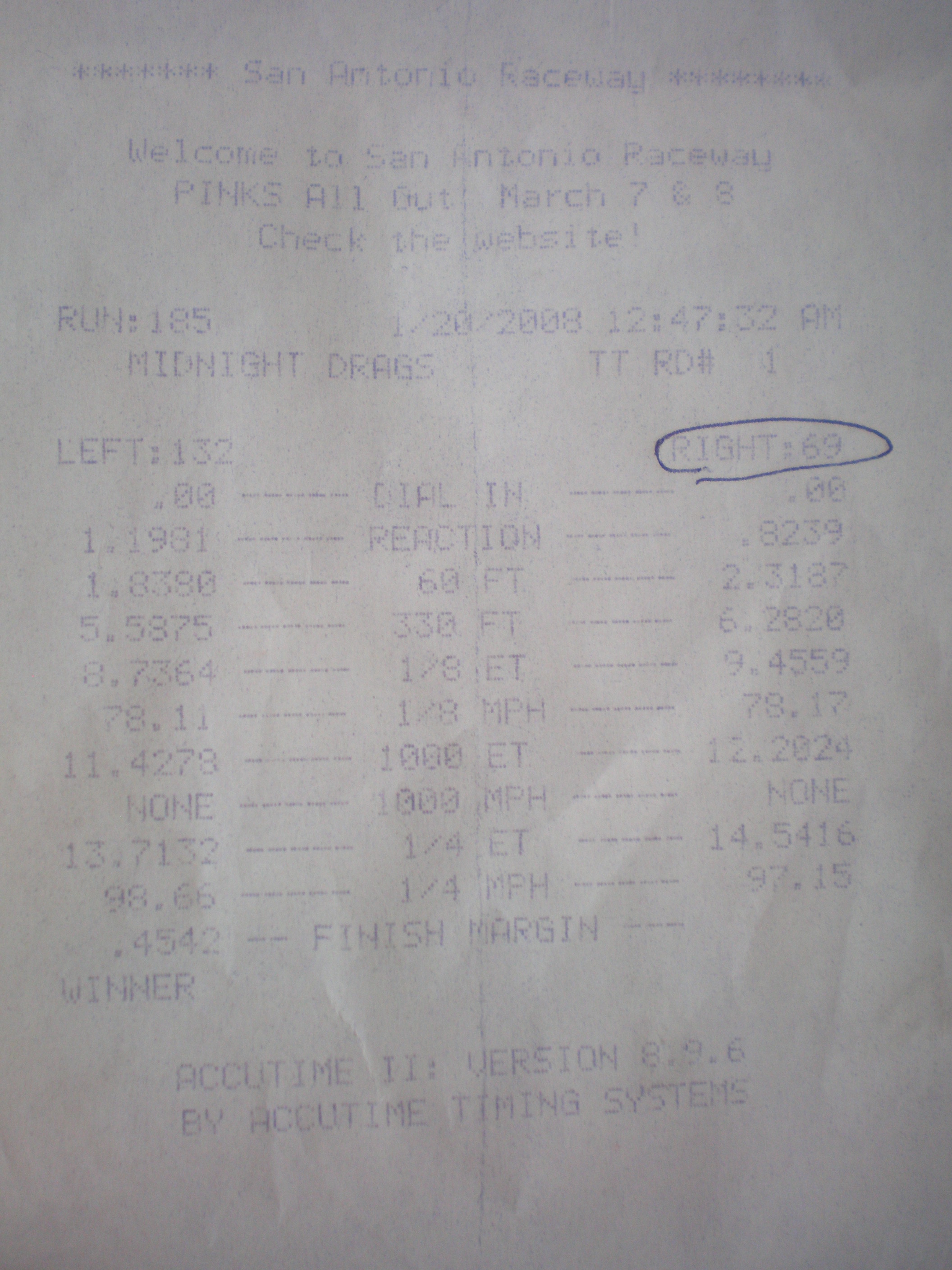 1993  Ford Escort Wagon Timeslip Scan