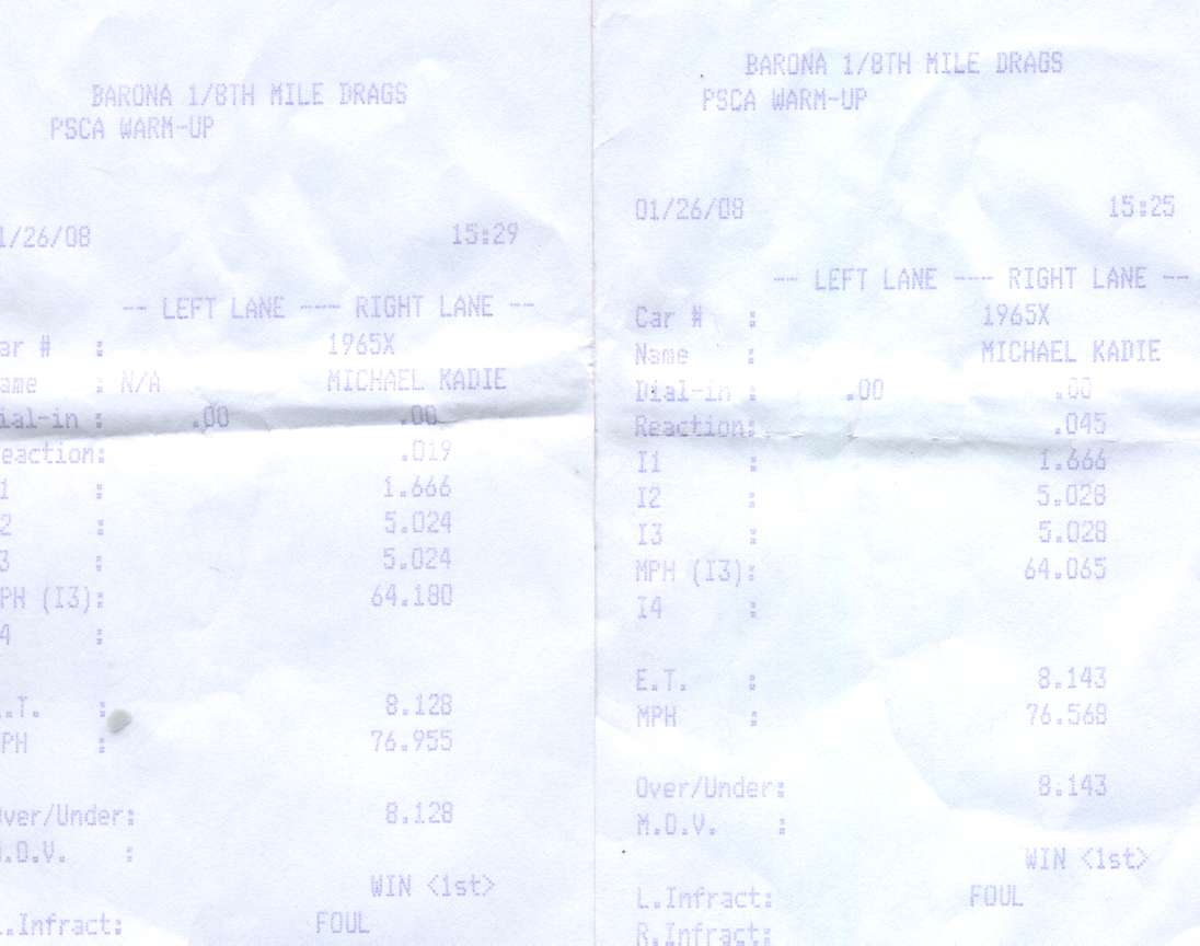 Shelby American Cobra Timeslip Scan