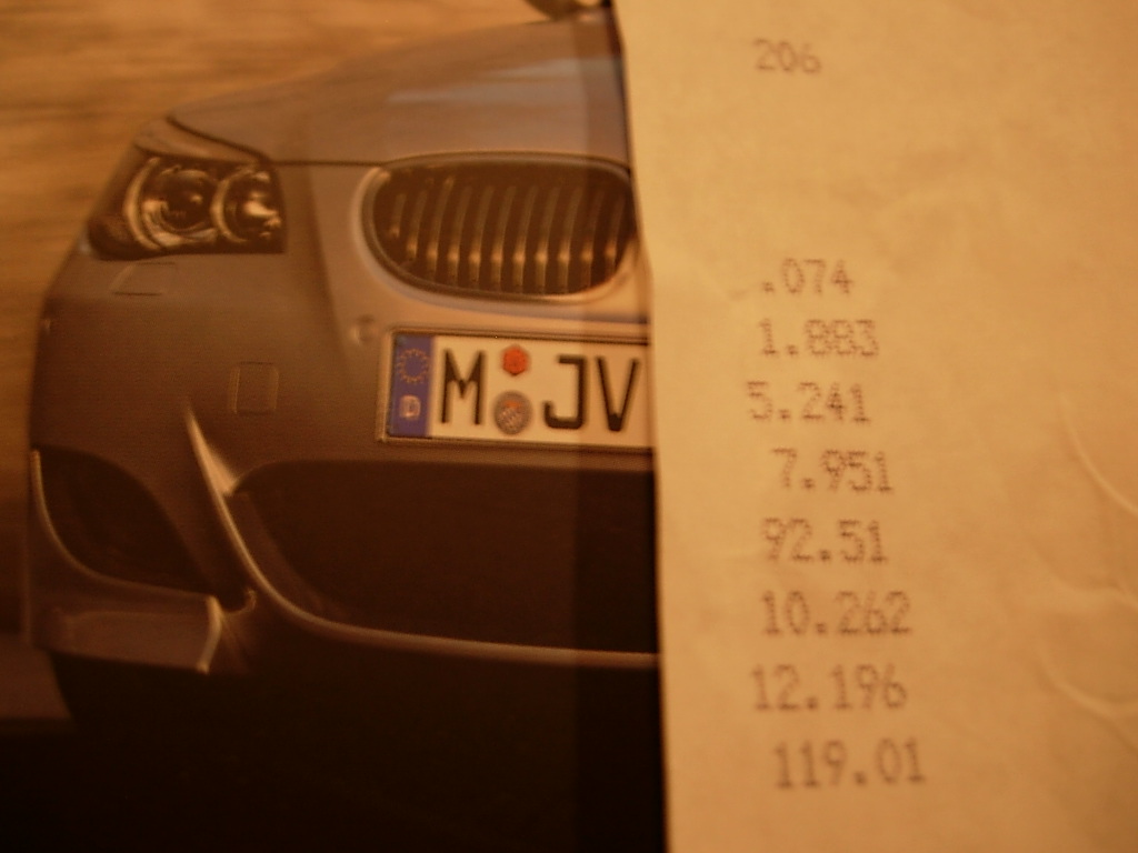 2006 BMW M5  Timeslip Scan