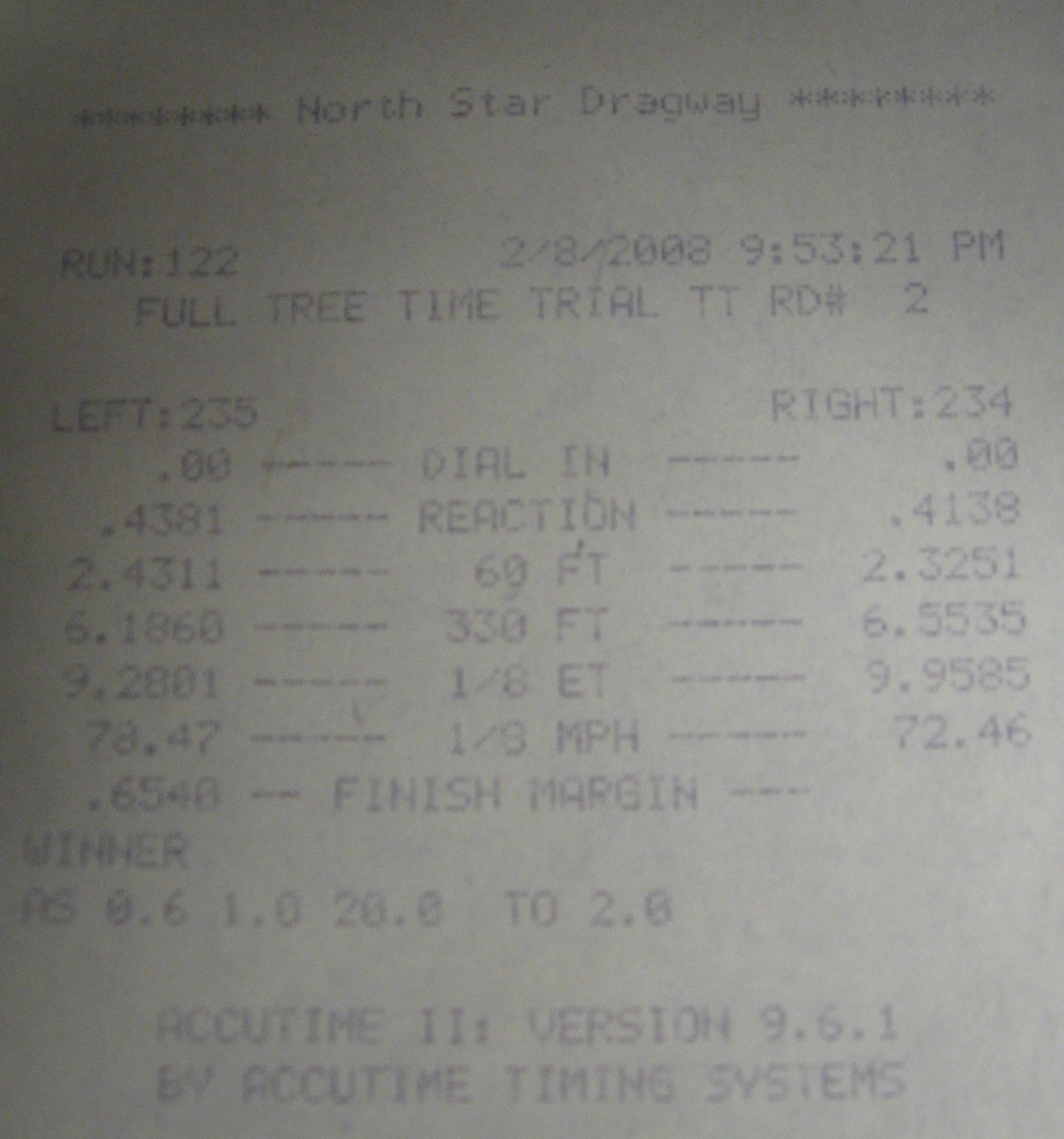 Lincoln Mark VIII Timeslip Scan