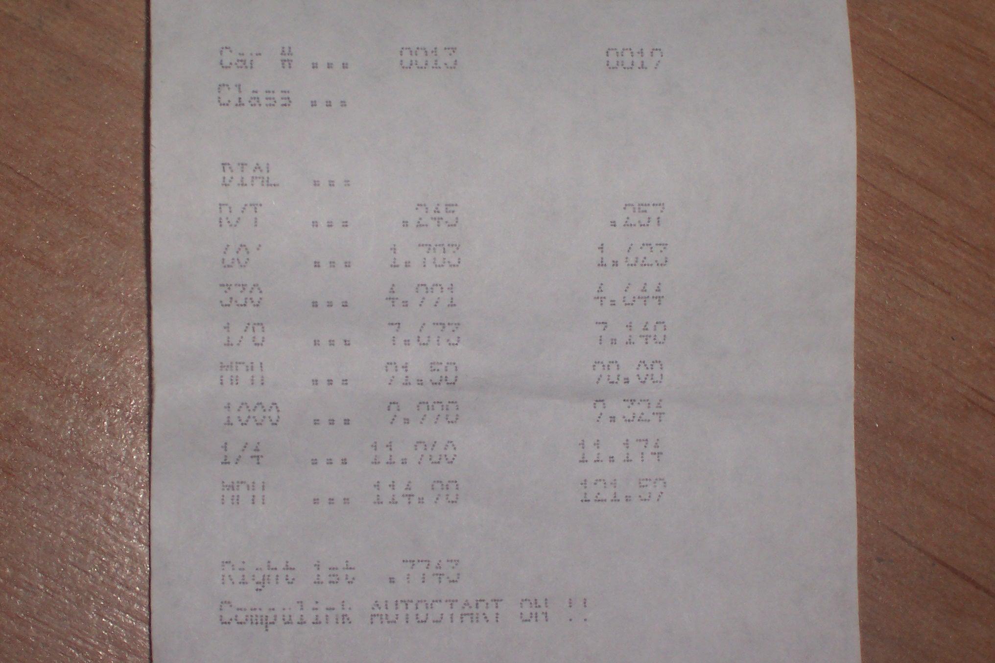Mercury Cougar Timeslip Scan