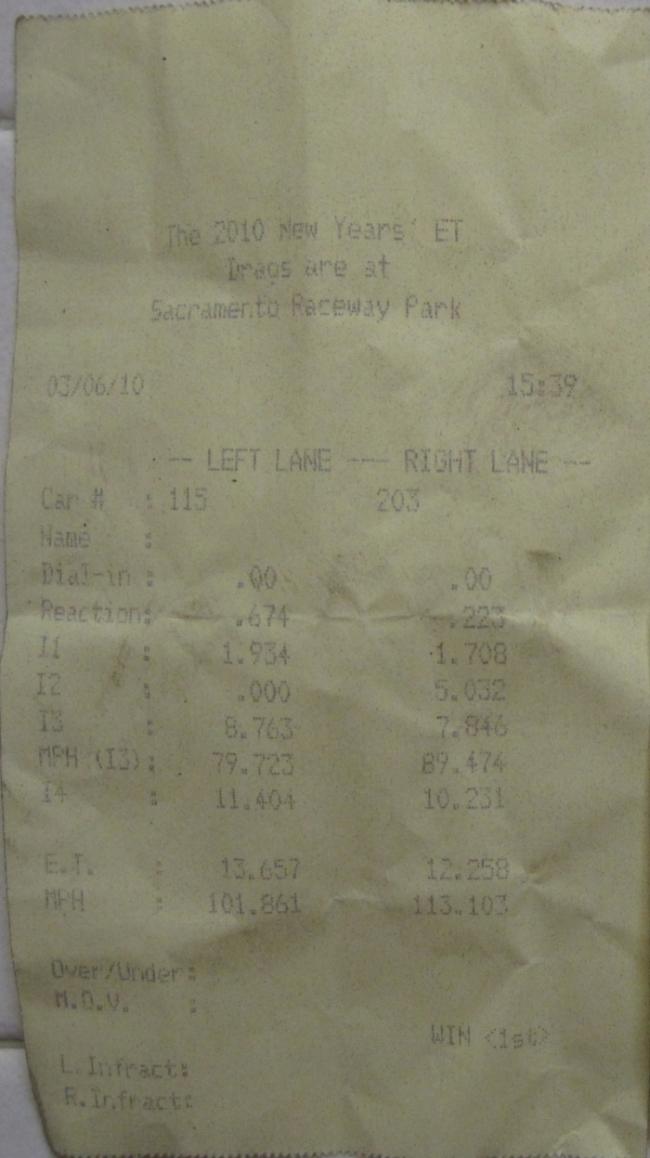 1994 Acura Legend gs Timeslip Scan