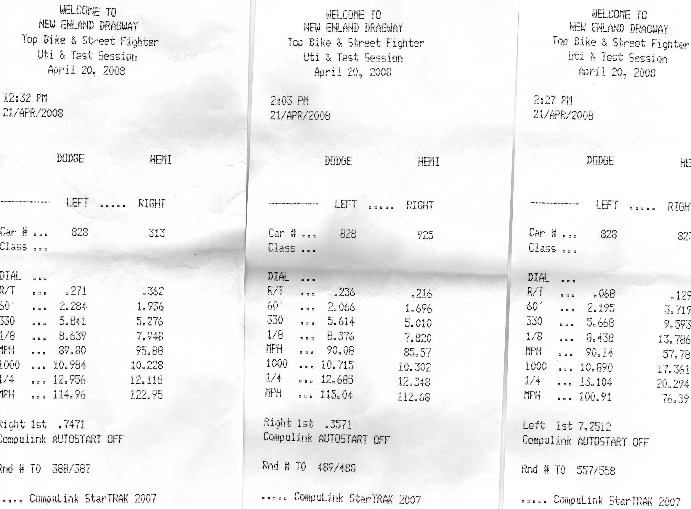 2005 Pontiac GTO Magnacharger Supercharger Timeslip Scan