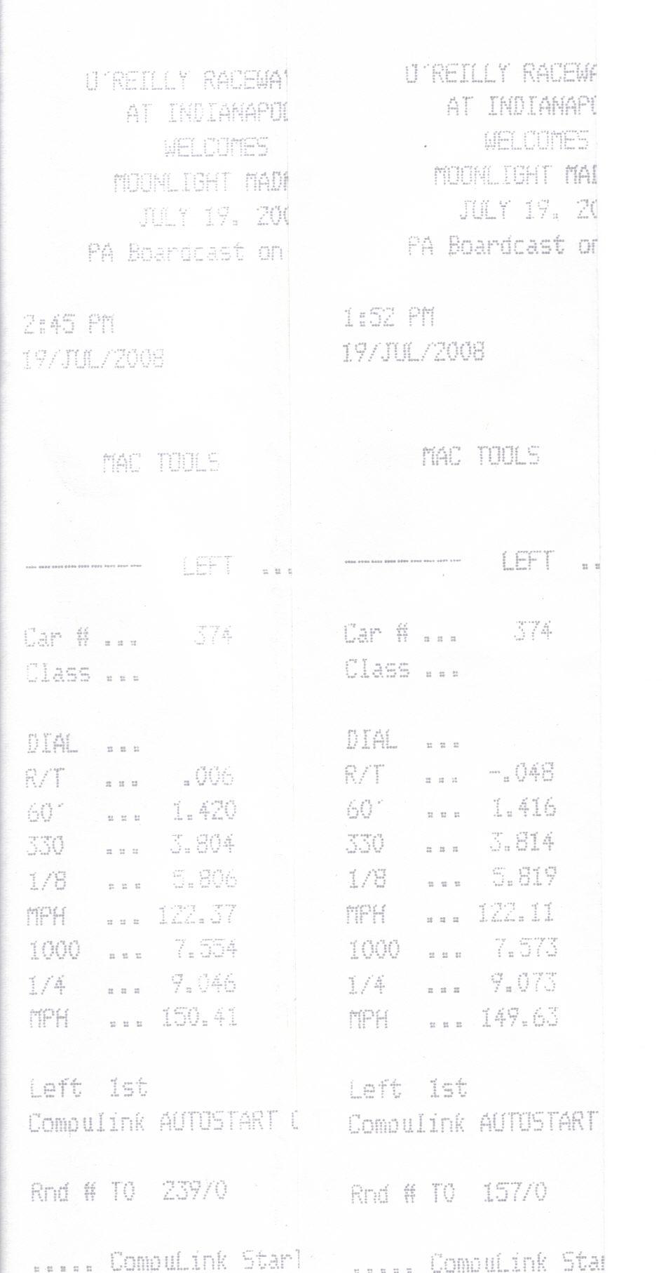 Kawasaki ZX-14 Timeslip Scan