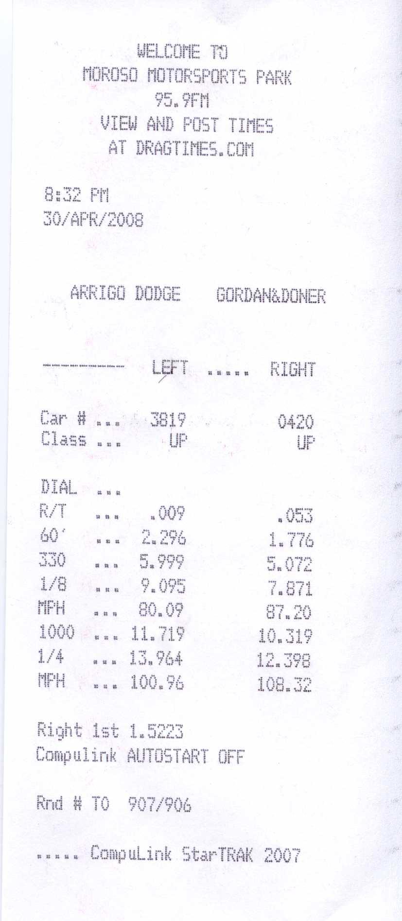 Chevrolet CK2500 Truck Timeslip Scan