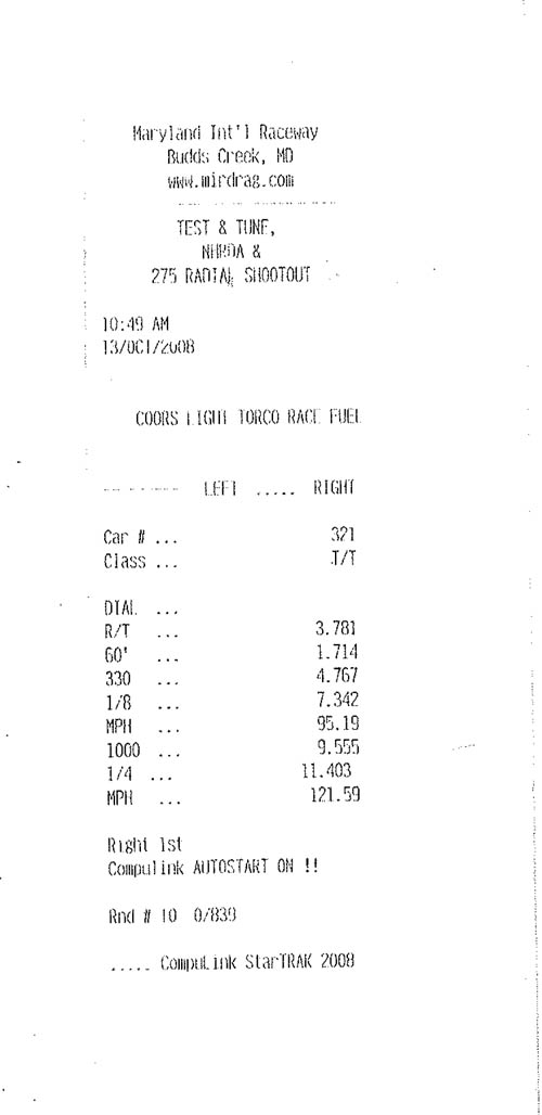 Mercedes-Benz CL65 AMG Timeslip Scan