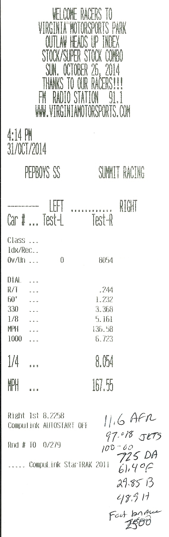 Chevrolet Bel Air Timeslip Scan
