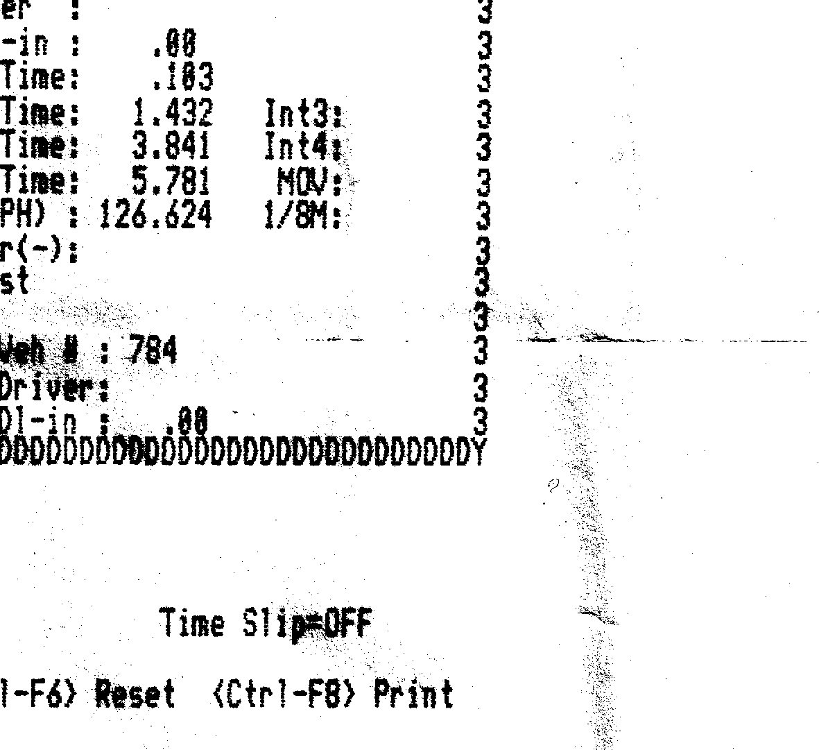 Kawasaki ZX-14 Timeslip Scan