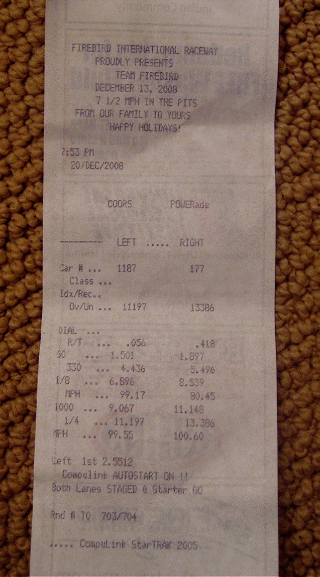 Toyota Tacoma Timeslip Scan