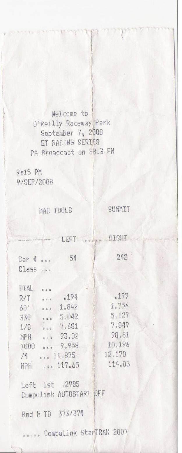 Pontiac Trans Am Timeslip Scan
