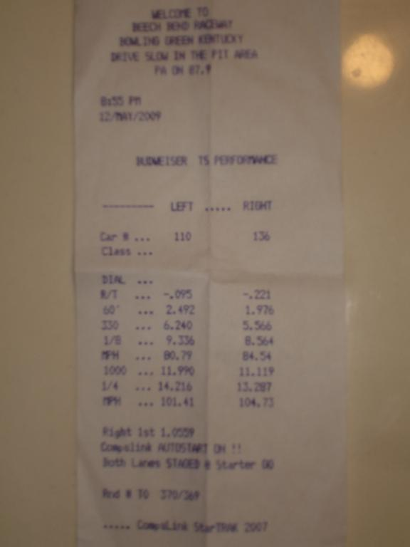 BMW M3 Timeslip Scan