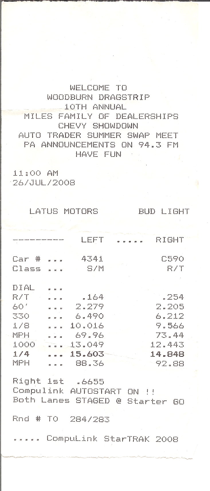 Pontiac Bonneville Timeslip Scan