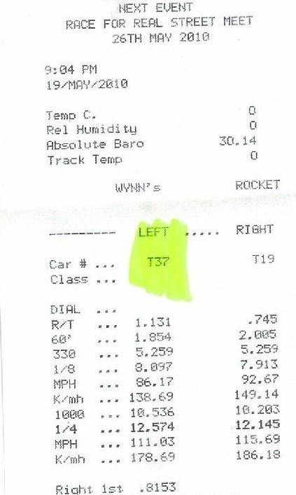 Toyota Soarer Timeslip Scan