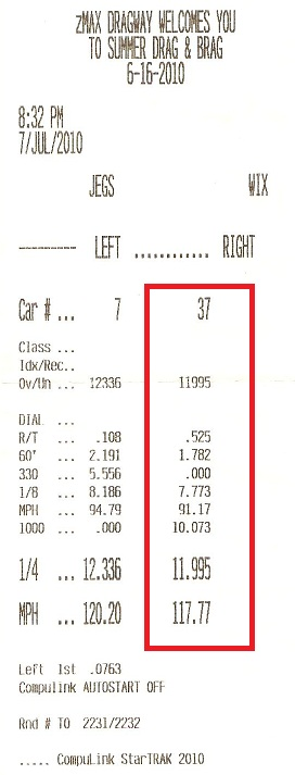 1993 Dodge Stealth RT/TT Timeslip Scan