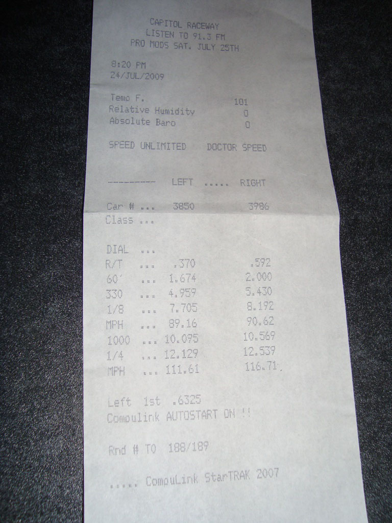2008 Infiniti G37 S GT28RS Turbo Timeslip Scan