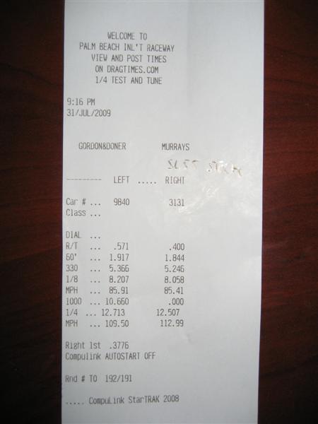 Mercedes-Benz SL55 AMG Timeslip Scan
