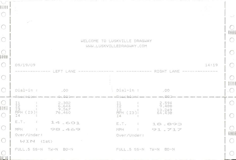 Volvo C70 Timeslip Scan